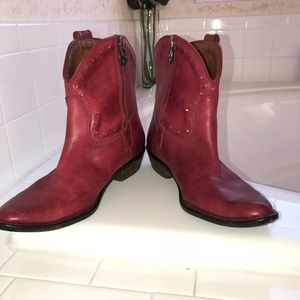 Lucky Brand, western shoe boots